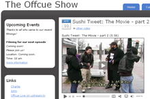 Sushi Tweet & The Offcue Show!